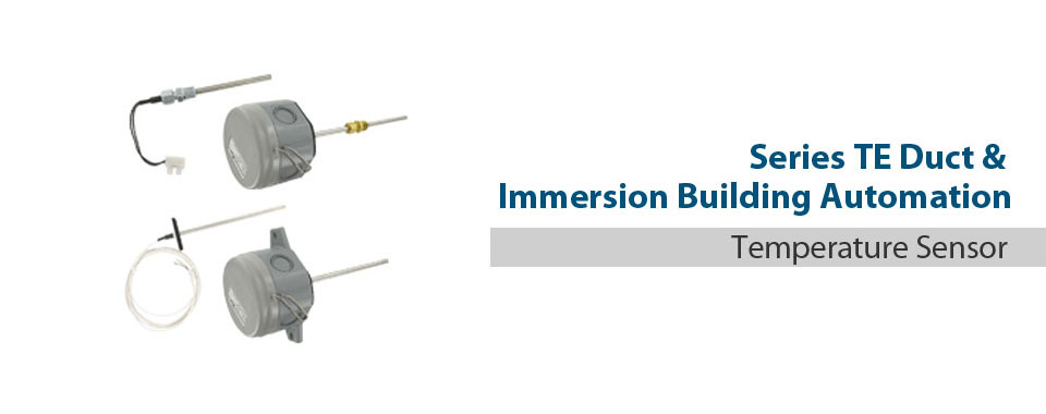 Duct and Immersion Building Automation Temperature Sensors